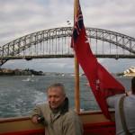 Allen Nause in Sydney, Australia
