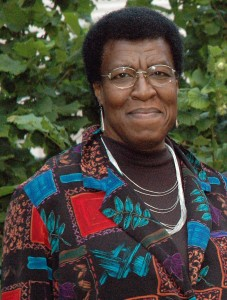 Octavia Butler/Photo by her friend Leslie Howle