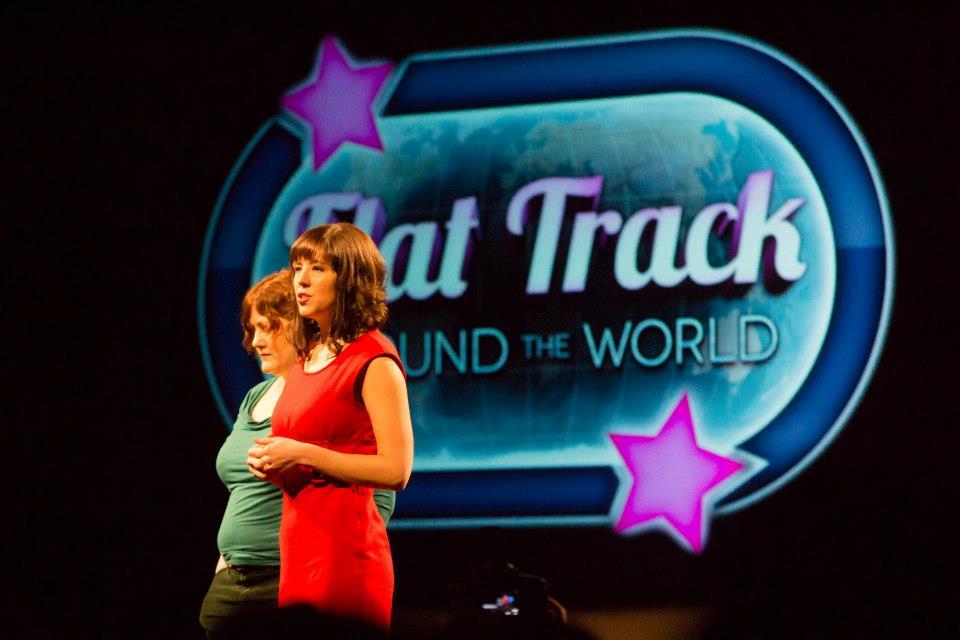 Flat Track Around The World