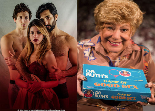 Threesome + Dr. Ruth