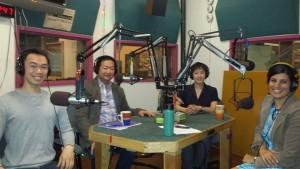 Samson Syharath, Larry Toda, Wynee Hu & host Sarika Mehta