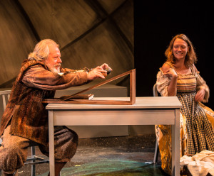 Dear Galileo: Chris Porter & Kate Mura. Photo: Steve Patterson