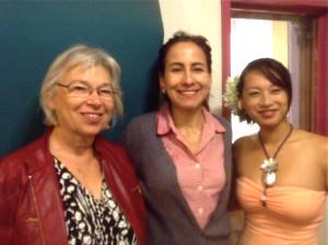Susan Addy, Olga Sanchez & Charlie Okada