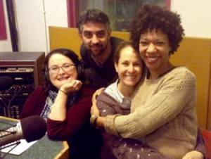 Dmae with Johnan San Nicholas, Susannah & Ayanna Berkshire