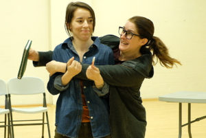Sara Hennessy* (Sonya Kelly), Amy Katrina Bryan (as herself, the stage manager)