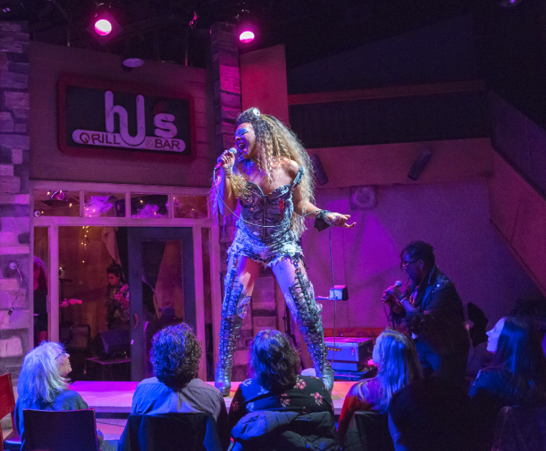 """Delphon """"DJ"""" Curtis Jr. and Ithica Tell in """"Hedwig and the Angry Inch."""""""